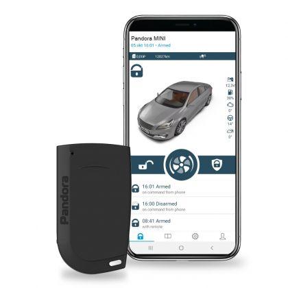 Pandora Mini V3 - CAN-bus автомобилна алармена система с вграден имобилайзер