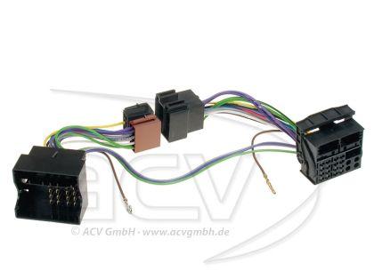 Citroen/Peugeot - ISO интерфейс за свързване на разговорно устройство