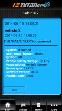 Tytan DS512 - GPS/GSM автоаларма с управление от смартфон
